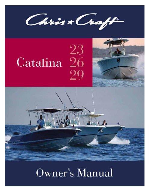 Catalina Owner\u0027s Manual - Chris Craft