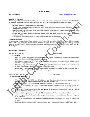 Portal Architect Resume Portal Architect Resume Portal Architect