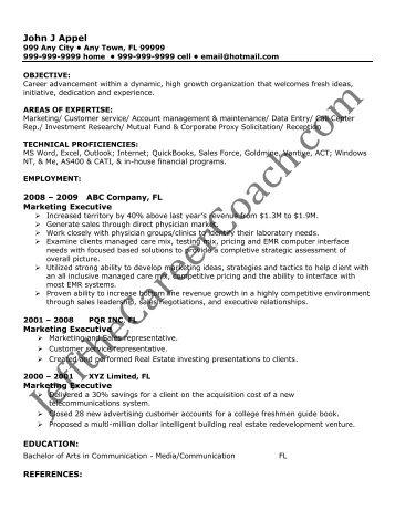 Resume Addendum Example. project manager resume addendum award .