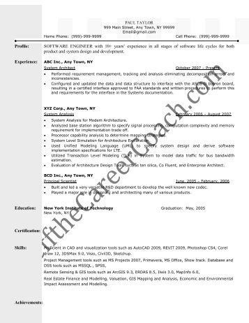 pct job description resume pct resume cv01 billybullock