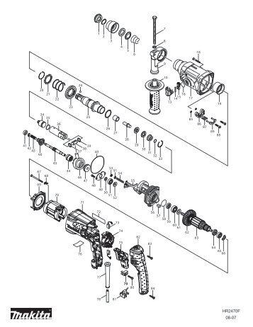 Makita Miter Saw Switch Wiring Diagram Makita
