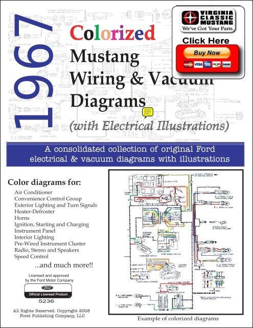 DEMO - 1967 Mustang Wiring and Vacuum Diagrams