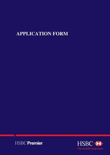 Hsbc Credit Card Application Form Download | Best | Resume | Samples