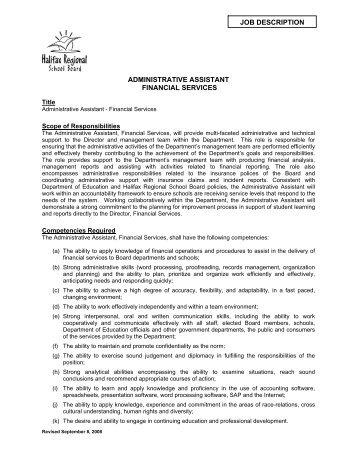 administrative assistant job description template - Josemulinohouse - administrative assistant description