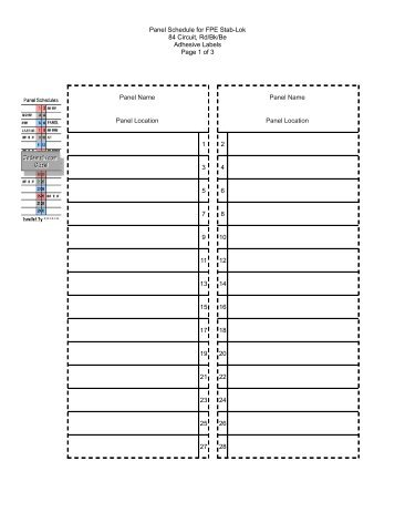 Blank Panel Box Wiring Diagram Wiring Schematic Diagram