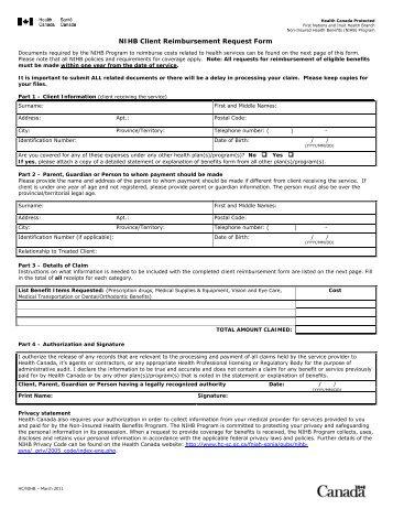 reimbursement claim form template - Romeolandinez
