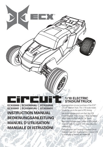 electrix rc esc circuit ruckus ecx1070