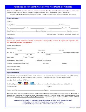 request death certificate - Yelomdigitalsite