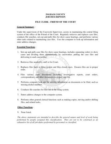 payroll clerk job description page 854 payroll clerk job