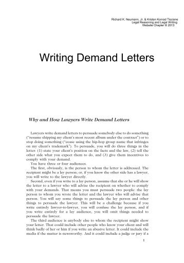 Demand Letter Example 10 Formal Demand Letter Template Financial - demand letter