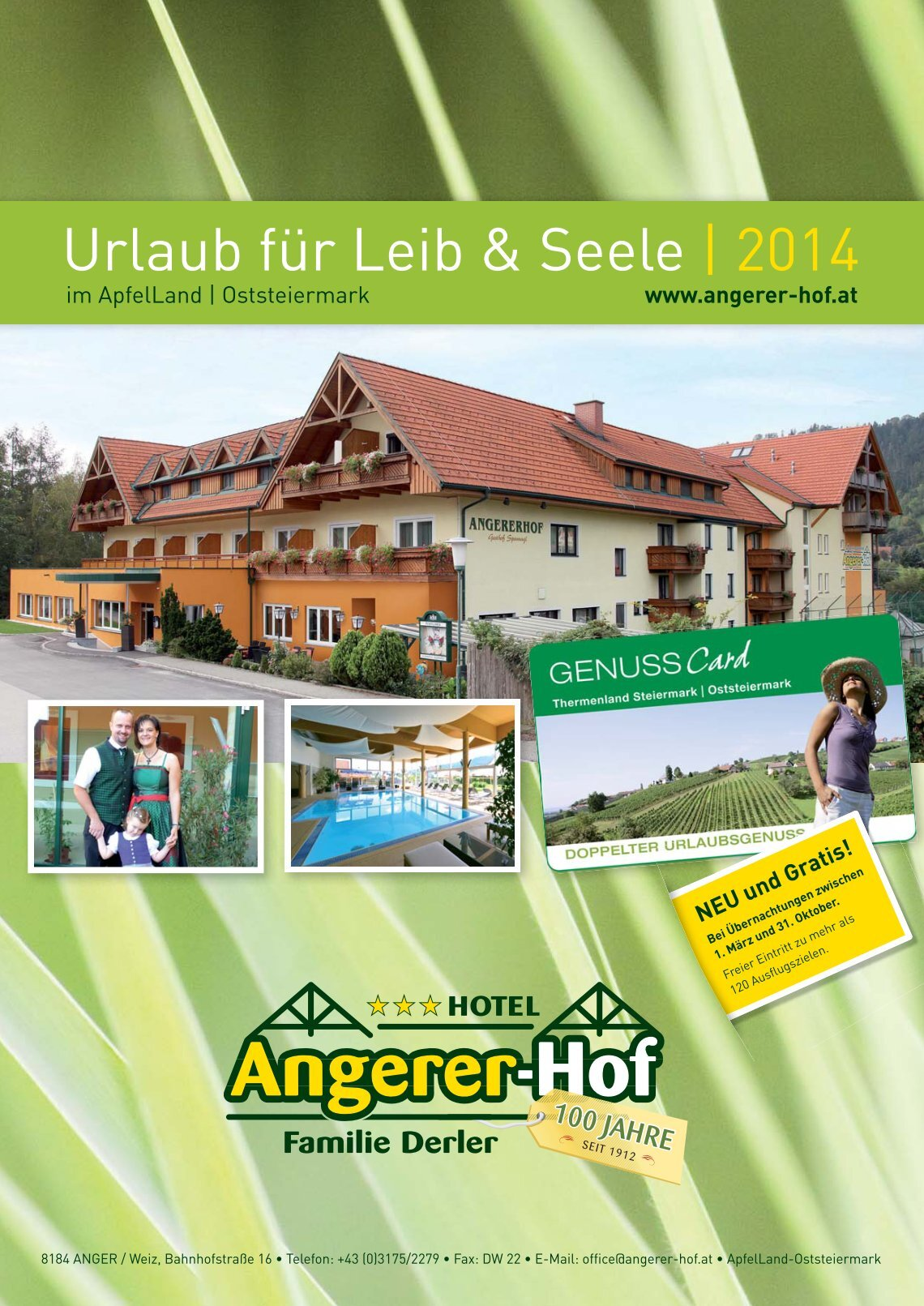 Home Office Urlaubsanspruch 2 Free Magazines From Angerer Hof At