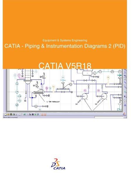CATIA - Piping  Instrumentation Diagrams 2 (PID)