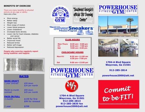 Powerhouse Gym Brochure