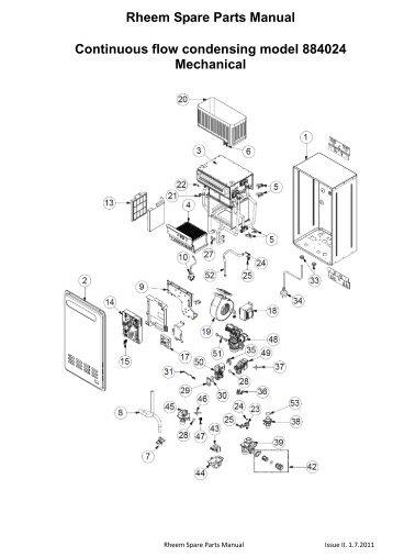manual for rheem heat pump