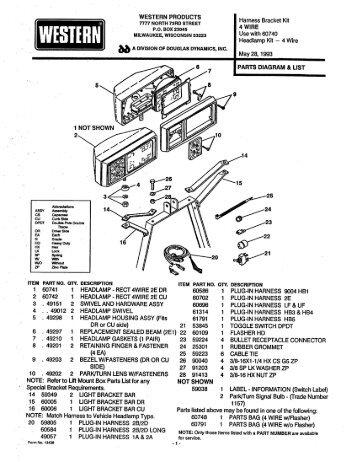 wiring harness identification