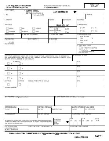 leave request form navy - Asliaetherair - leave request form