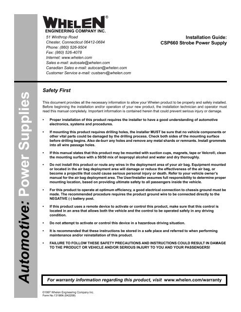 Whelen Csp690 Wiring Diagram Control Cables  Wiring Diagram