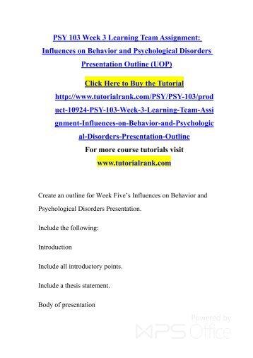 presentation essay example