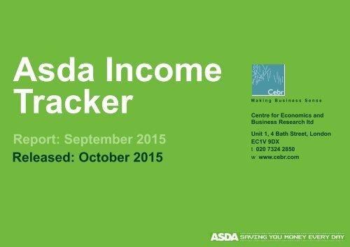 Asda Income Tracker