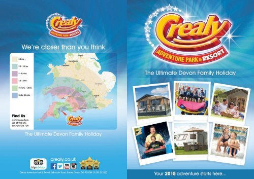 Crealy Adventure Park  Resort Brochure 2018