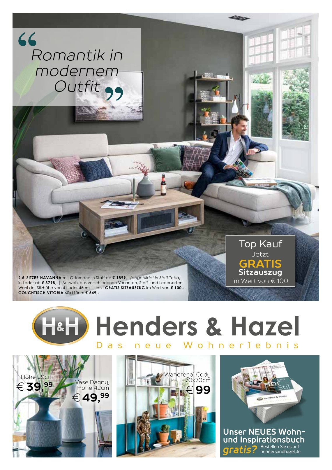 Henders & Hazel Couchtisch 10 Free Magazines From Helue0345