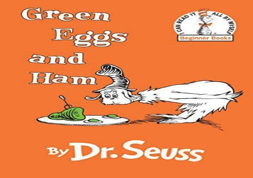 PDF TOP TREND Green Eggs and Ham READ