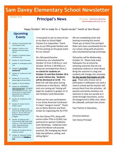 elementary school newsletters - Kubrakubkireklamowe