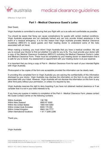 medical clearance letter - Hunthankk