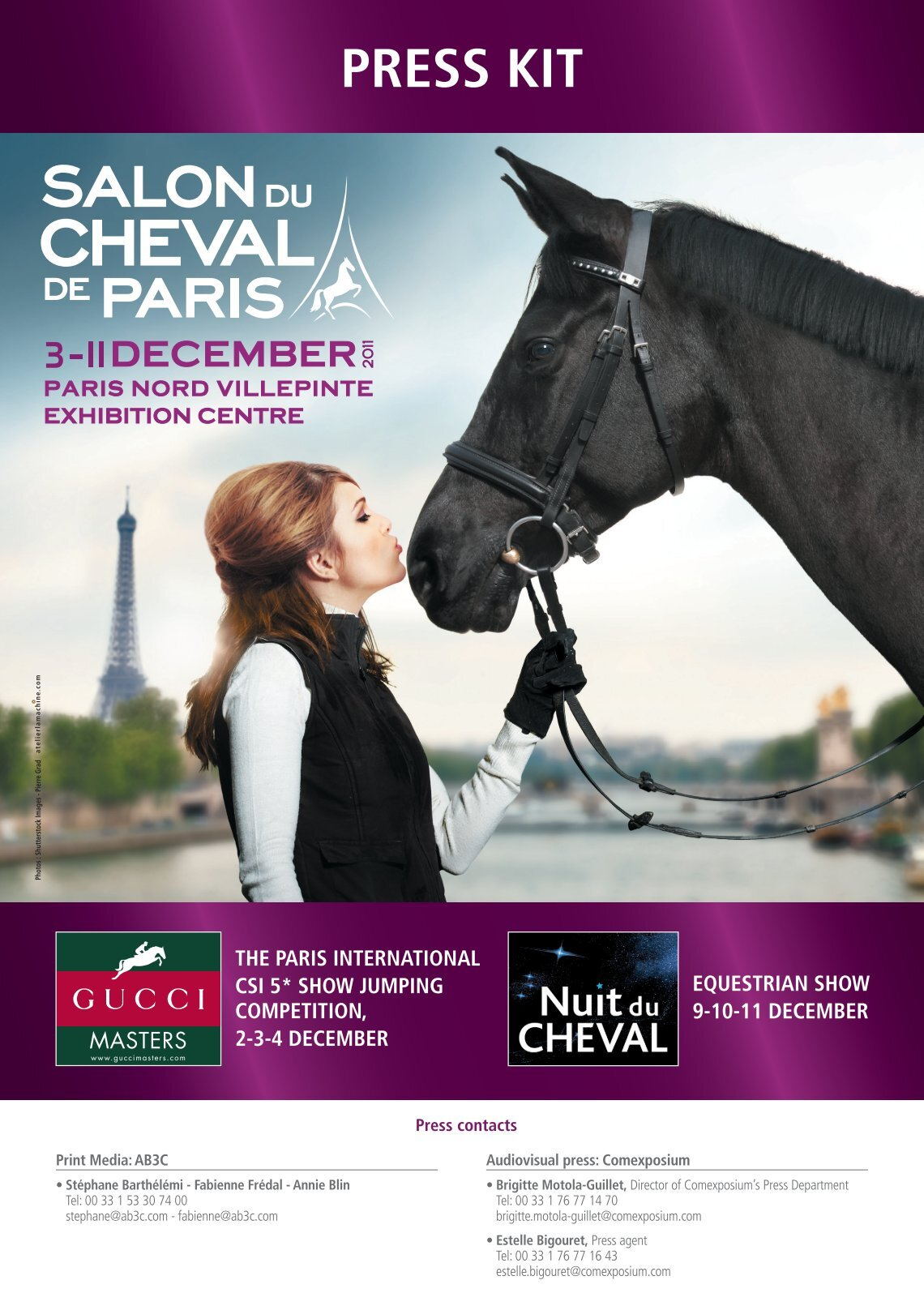 Salon Du Cheval A Paris 1 Free Magazines From En Salon Cheval Com