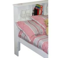 Bookcase Bed Frame | Temple & Webster