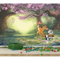 Bambi Butterfly Fun Full Wall Mural | Temple & Webster