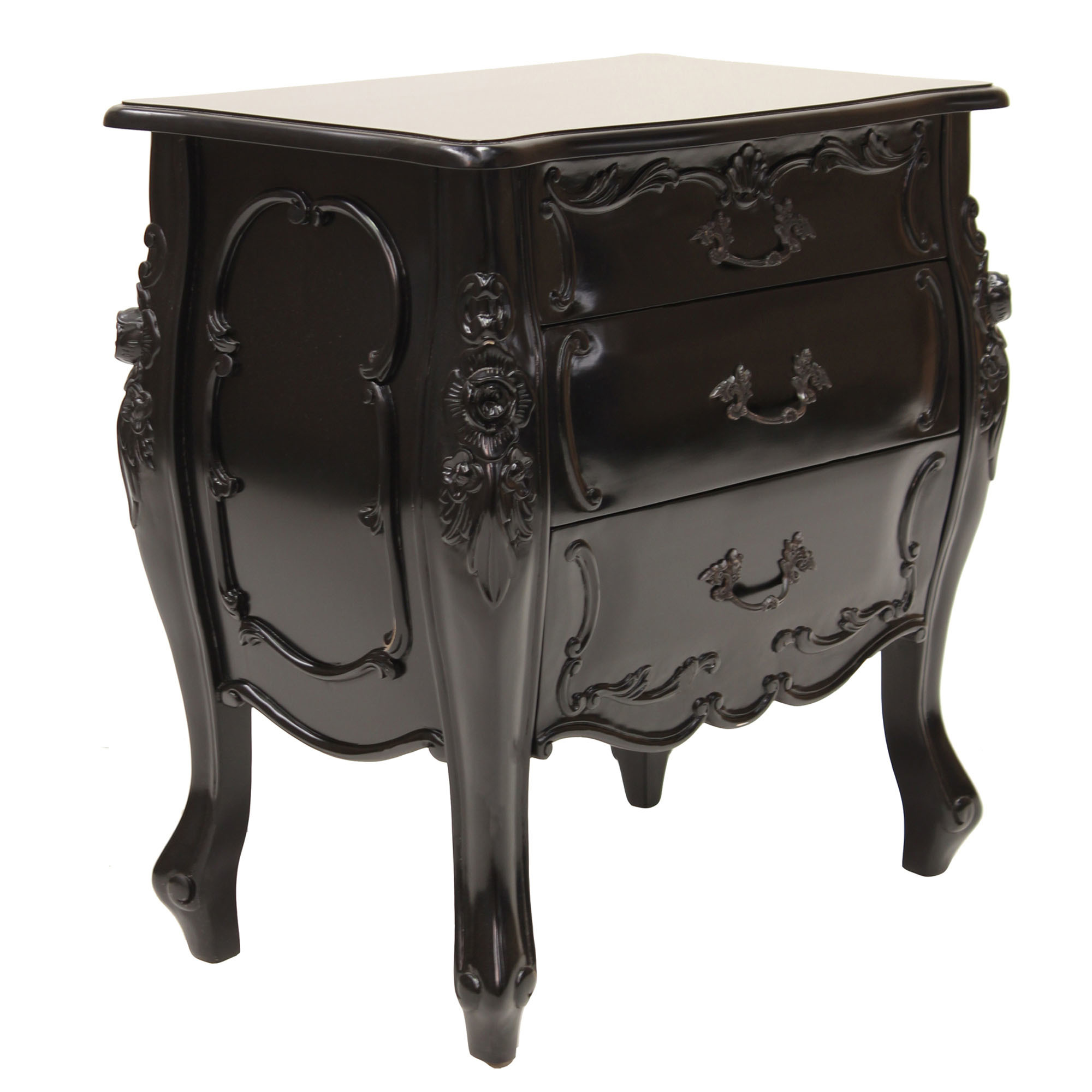 Provincial Bedside Tables French Provincial Aubrey Bedside Table