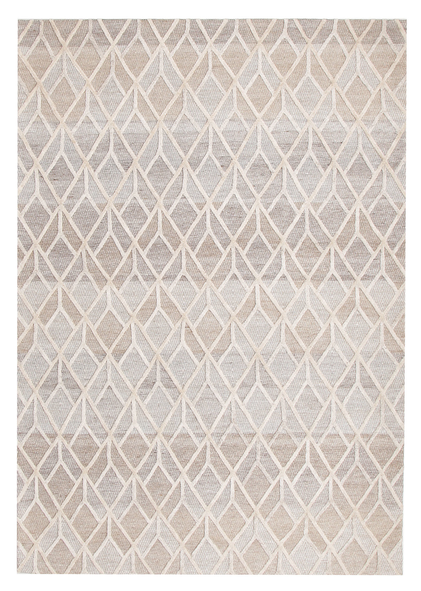 Large Rugs Sydney Clyde Jacquard Wool Viscose Modern Rug