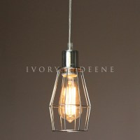 NEW Wire Cage Industrial Pendant Light | eBay