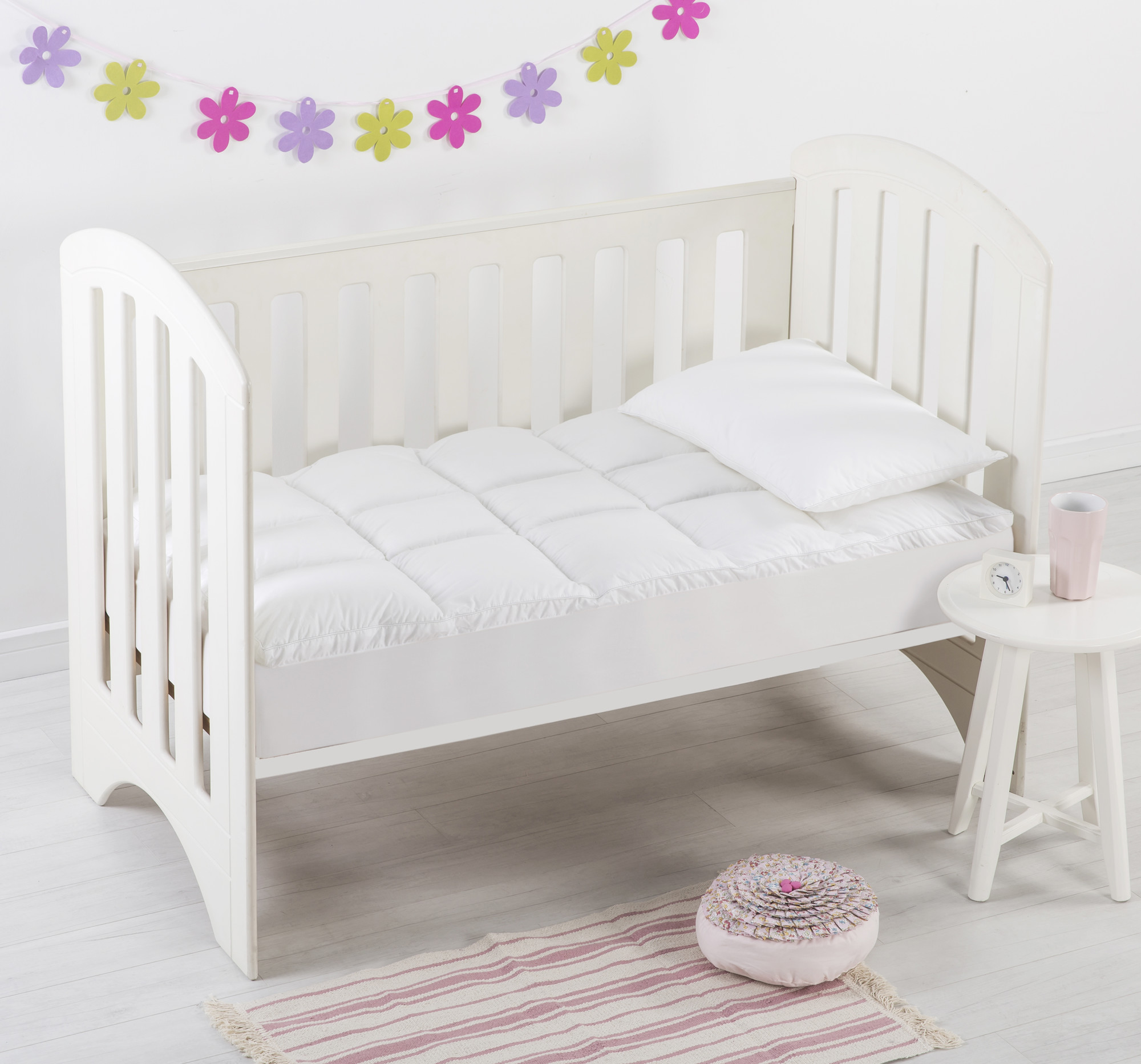 Standard Cot Mattress Size New Dreamaker Down Alternative Cot Size Mattress Topper