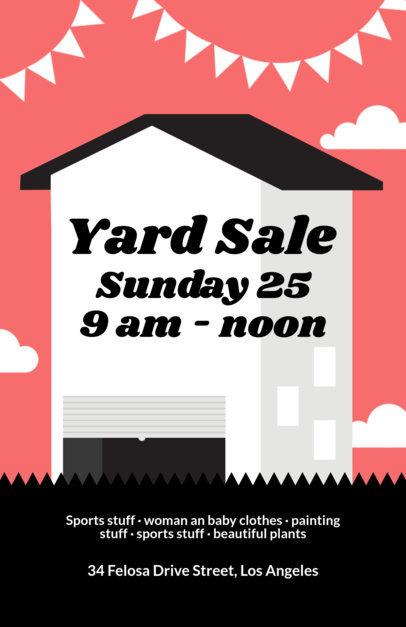 Placeit - Garage Sale Flyer Maker - yard sale flyer template