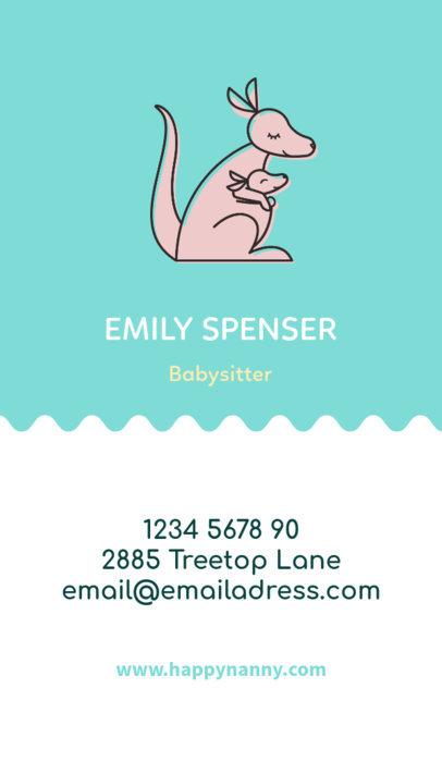 babysitting cards maker - Canasbergdorfbib