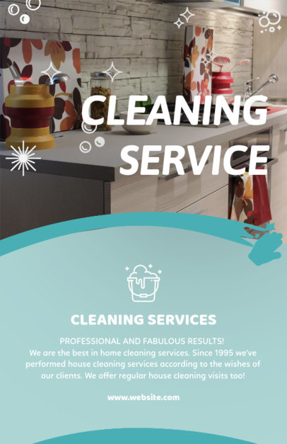 Placeit - House Cleaning Flyer Maker