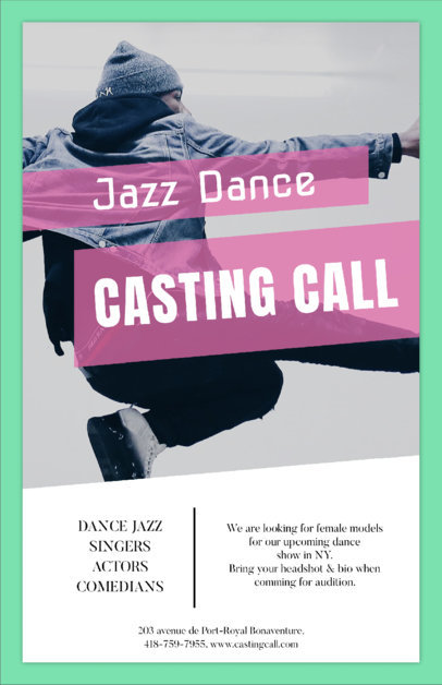 Flyer Templates for Every Event! (Page 6) - auditions flyer template