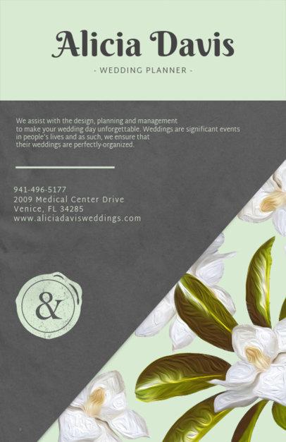 Free Word Wedding Flyer Template Wedding Event Planning Flyer Ad