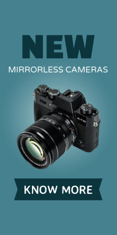 Placeit - Photography Cameras for Sale Ad Template