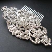 Vintage Style Bridal Hair Comb Wedding Bridal Hair