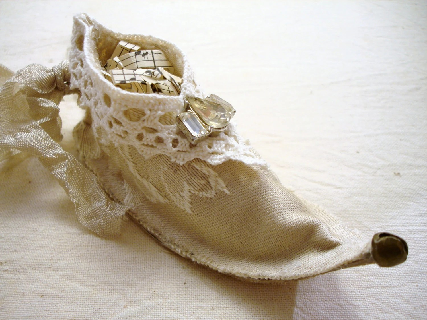 Elf Shoes Australia Sweet Elf Fairy Shoe Ornament Tutorial From Sewmanyroses