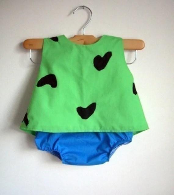 Rush Pebbles Costume Baby Toddler Girl Halloween Top