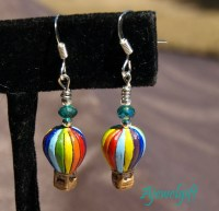 Hot Air Balloon Earrings 12063