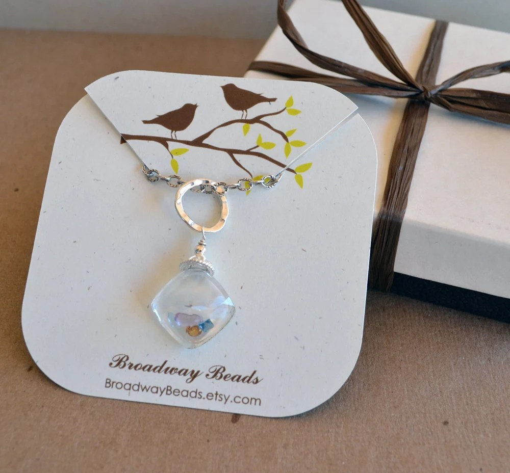 Items Similar To Custom Necklace Cards Jewelry Display