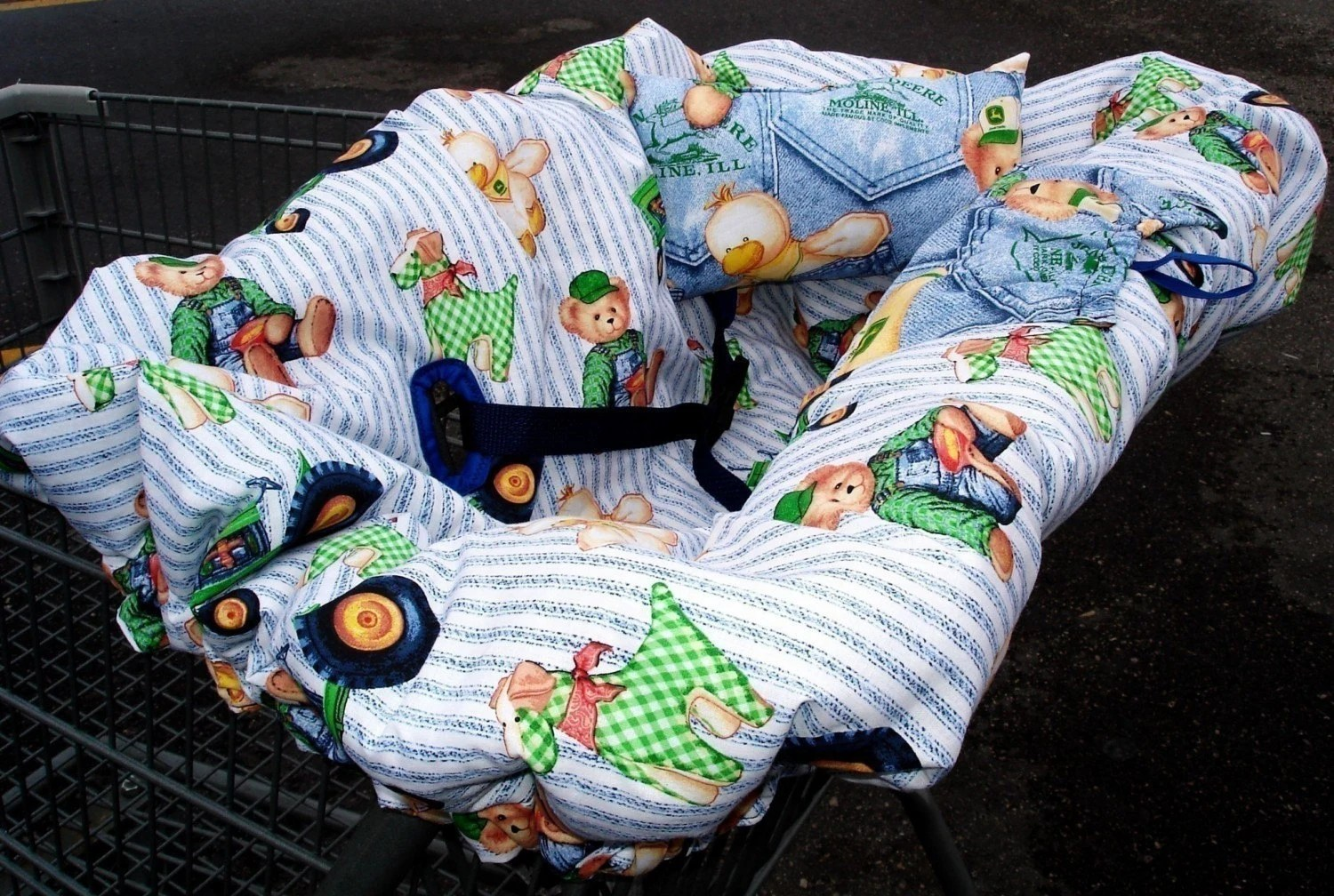 Diamond Chair Ez Shopping Cart Cover Instructions Pattern By