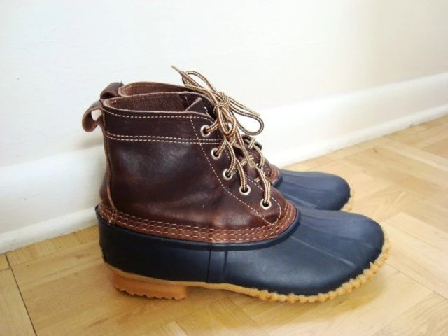 Awesome Classic Duck Boots By Eddie Bauer Size 7