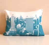 New York City Urban Throw Pillow Style no2 Pillow by NestaHome