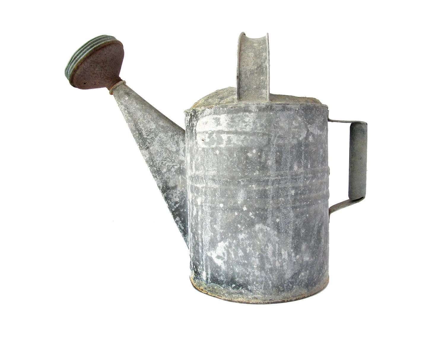 Galvanized Watering Cans Vintage Watering Can Galvanized Metal